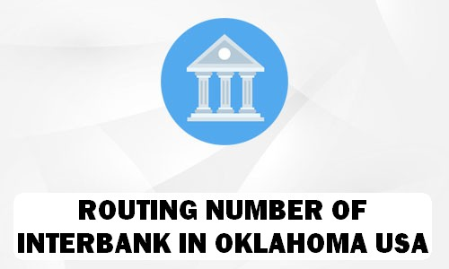 Routing Number of INTERBANK OKLAHOMA