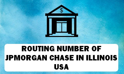 Routing Number of JPMORGAN CHASE ILLINOIS