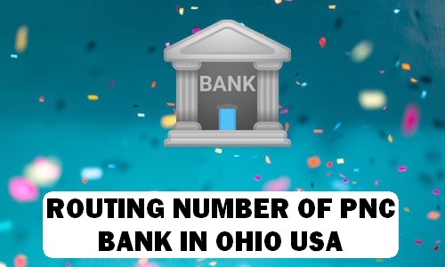 Routing Number of PNC BANK OHIO