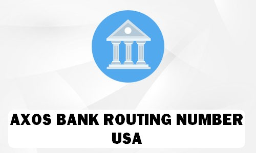 Axos Routing Number
