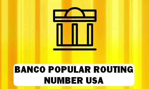Banco Routing Number
