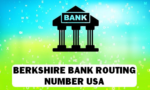 Berkshire Routing Number