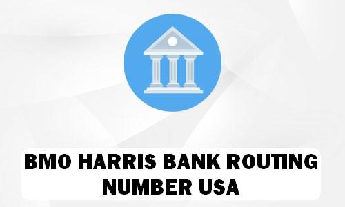 Harris Routing Number