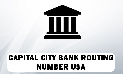 Capital City Routing Number