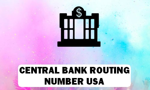 Central Routing Number