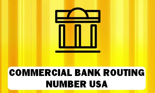 Commercial Routing Number