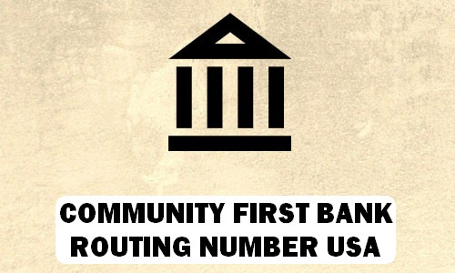 Community Bank Routing Number