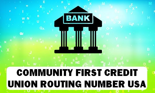Community First Credit Union Routing Number