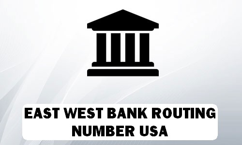 East West Routing Number