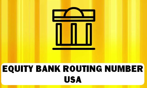 Equity Routing Number