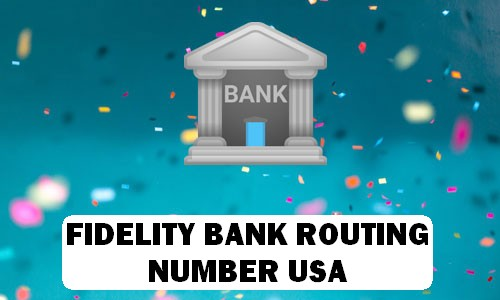 Fidelity Routing Number