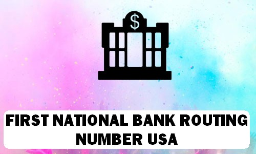 FNB Routing Number