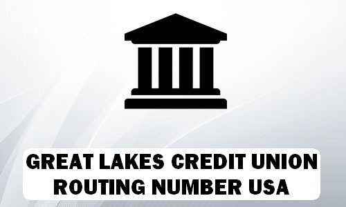Great Lakes Routing Number