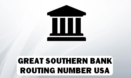 Great Southern Routing Number