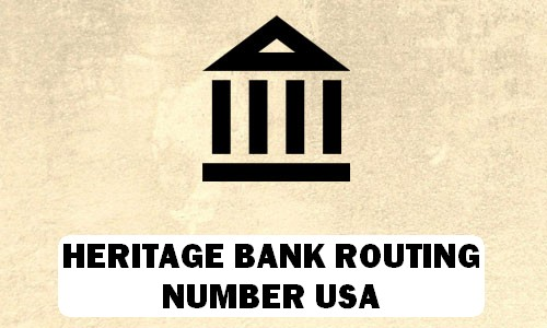 Hertiage Routing Number