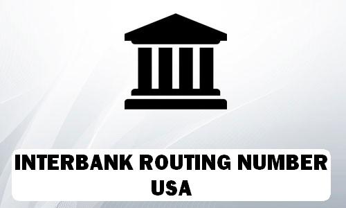 INTERBANK Routing Number