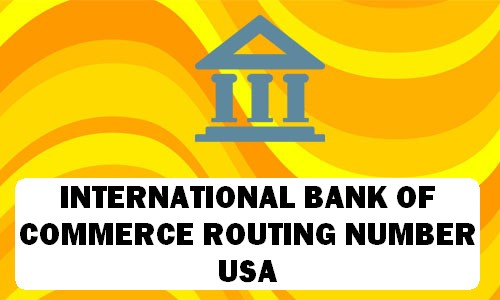IBC Routing Number