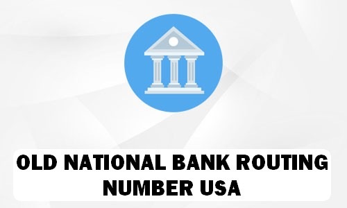 Old National Routing Number