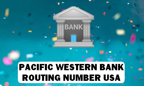 Pacific Routing Number