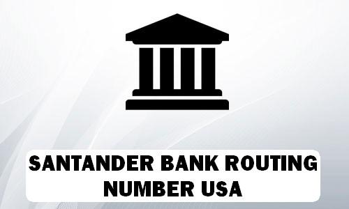 Santander Routing Number