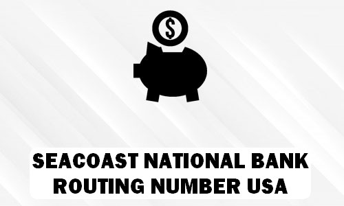 Seacoast Bank Routing Number