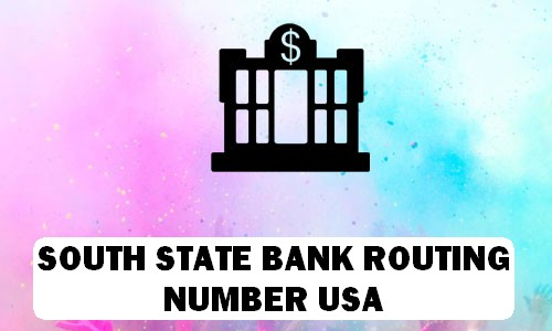 South State Routing Number
