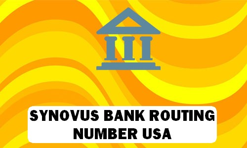 Synovus Routing Number