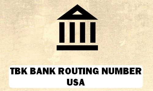 TBK Routing Number