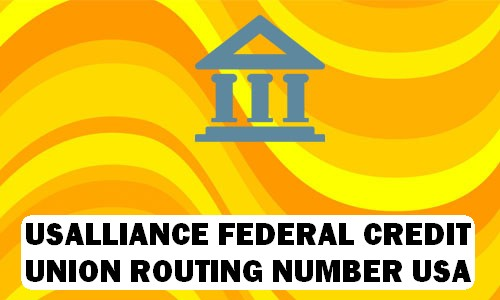 USAlliance Routing Number